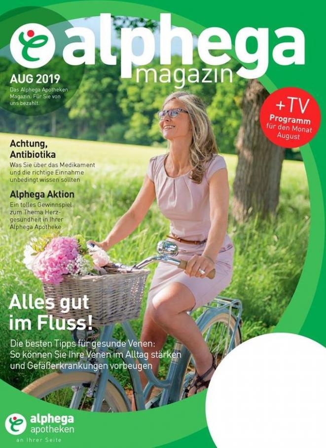 Alphega Magazin . Alphega Apotheken (2019-08-31-2019-08-31)