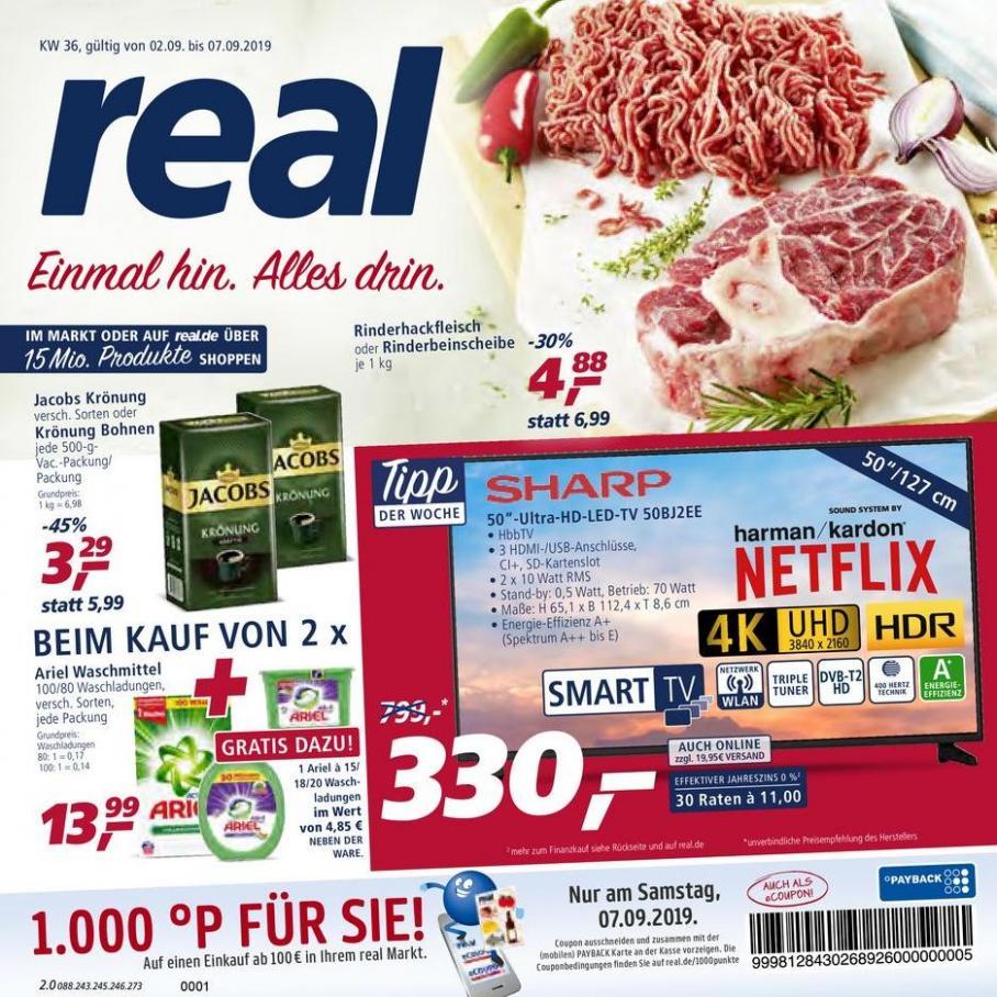 Prospekt Woche 36 . real (2019-09-07-2019-09-07)