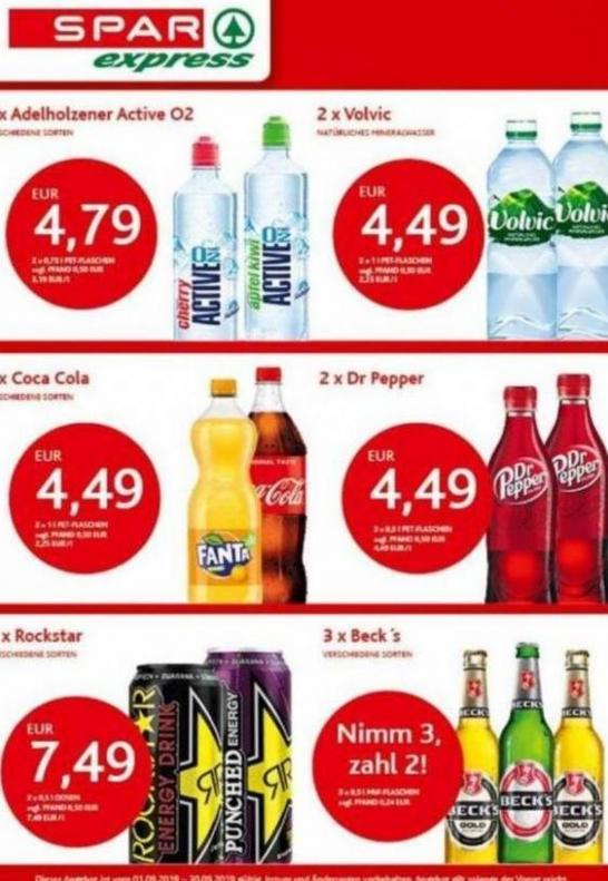 Angebote des Monats . Spar express (2019-09-30-2019-09-30)