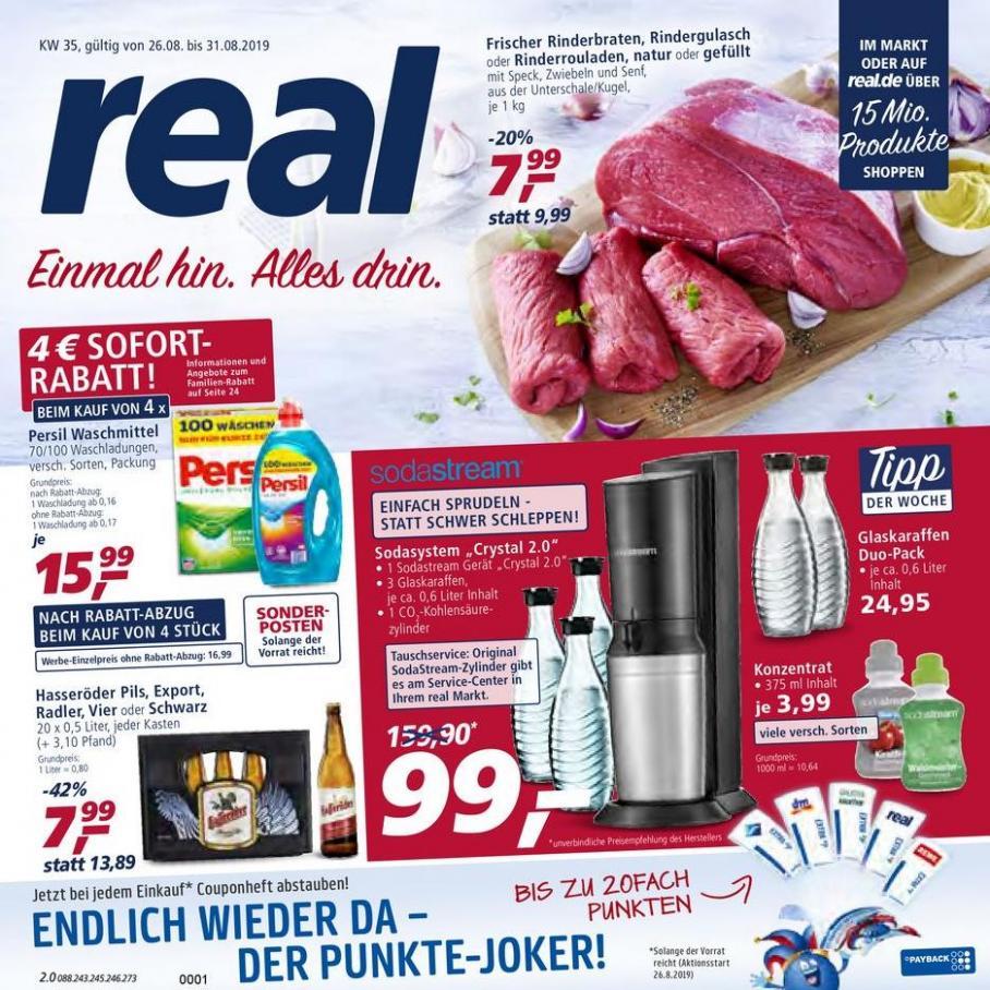Prospekt Woche 35 . real (2019-08-31-2019-08-31)