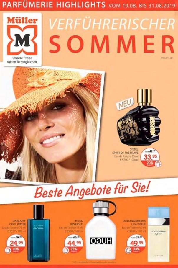 Verführerischer SOMMER . Müller (2019-08-31-2019-08-31)