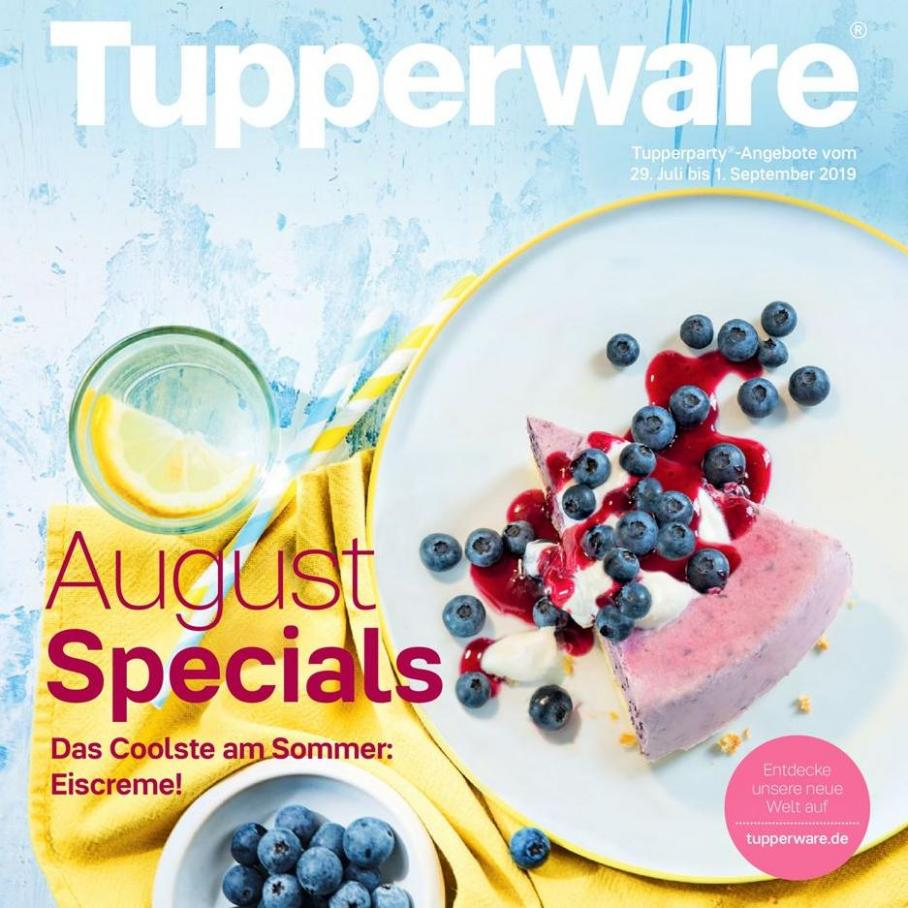 August Special  . Tupperware (2019-09-01-2019-09-01)