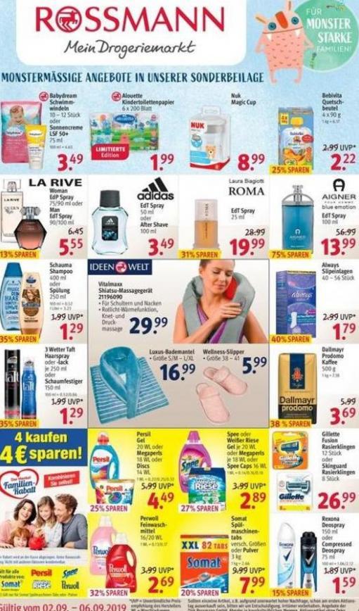 Mein Drogeriemarkt . Rossmann (2019-09-06-2019-09-06)