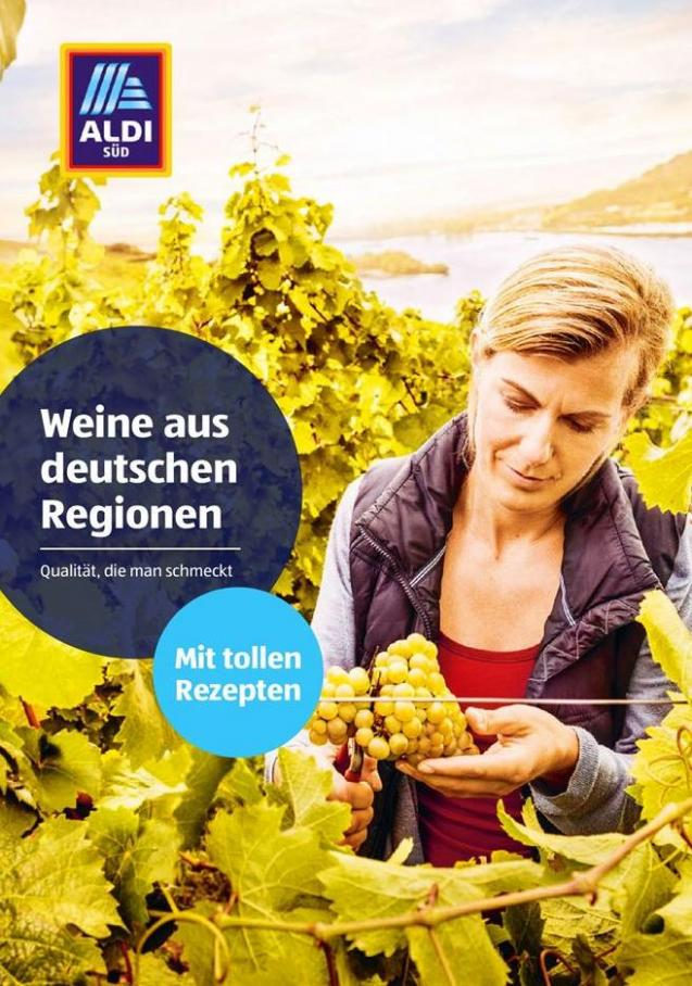 Weine aus deutschen regionen . Aldi Süd (2019-08-31-2019-08-31)