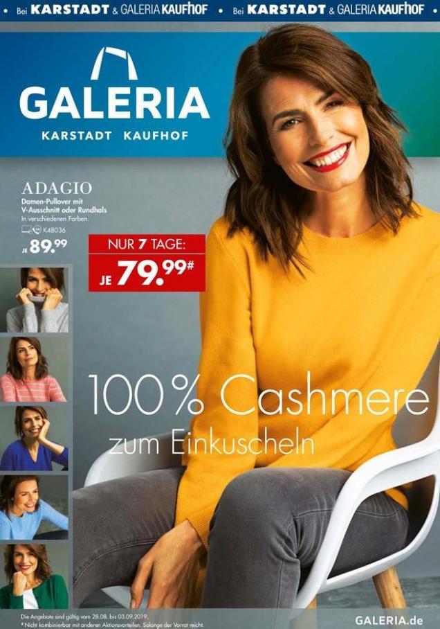 Angebote der Woche . Karstadt (2019-09-03-2019-09-03)