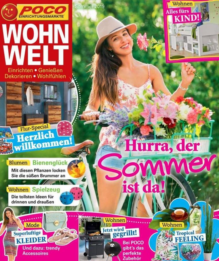 Wohnwelt Sommer 2019 . Poco (2019-08-31-2019-08-31)