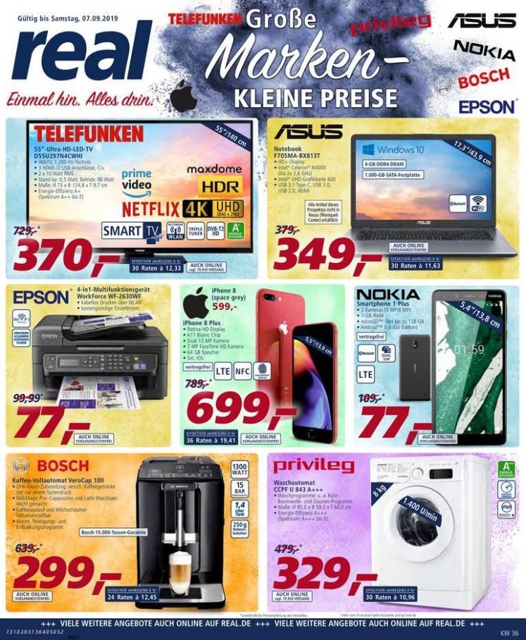 Große Marken - kleine Preise . real (2019-09-07-2019-09-07)