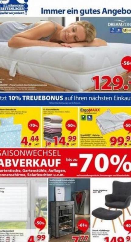 Immer ein gutes Angebot . Dänisches Bettenlager (2019-09-14-2019-09-14)