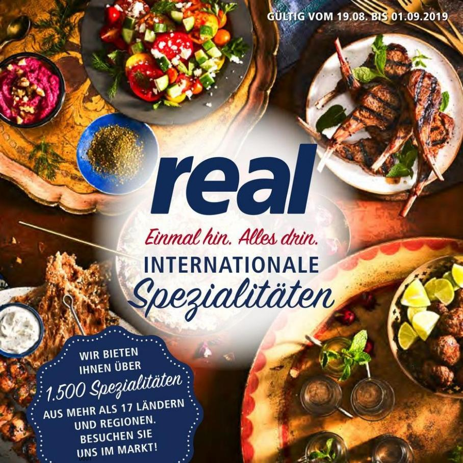 Internationale Spezialitäten . real (2019-09-01-2019-09-01)