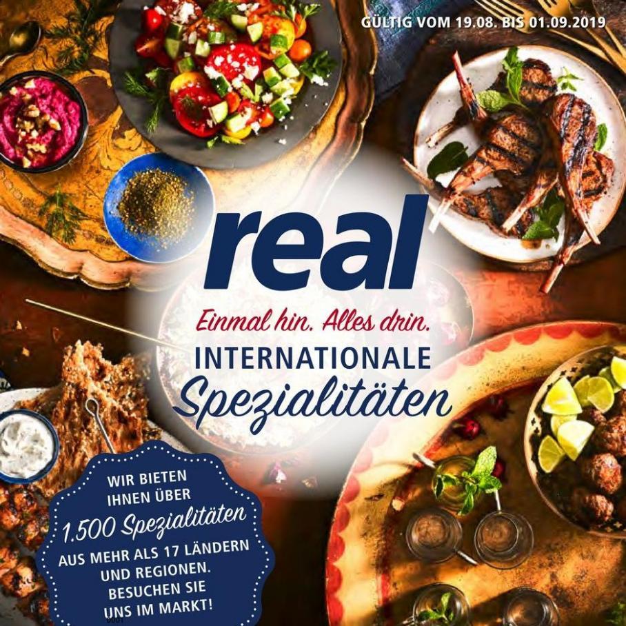 Internationale Spezialitäten . real (2019-09-01-2019-09-01)