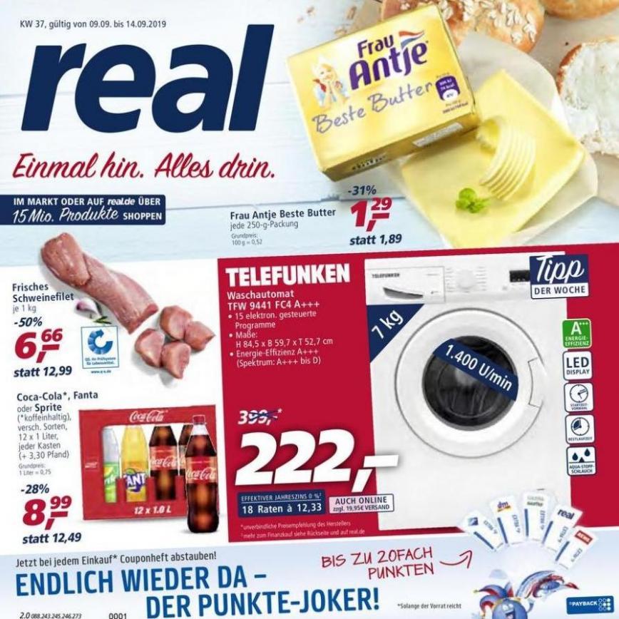 Prospekt Woche 37 . real (2019-09-14-2019-09-14)