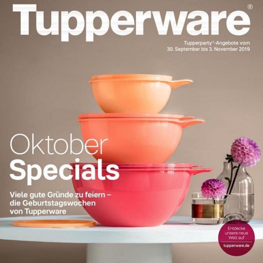 Oktober Specials . Tupperware (2019-11-03-2019-11-03)