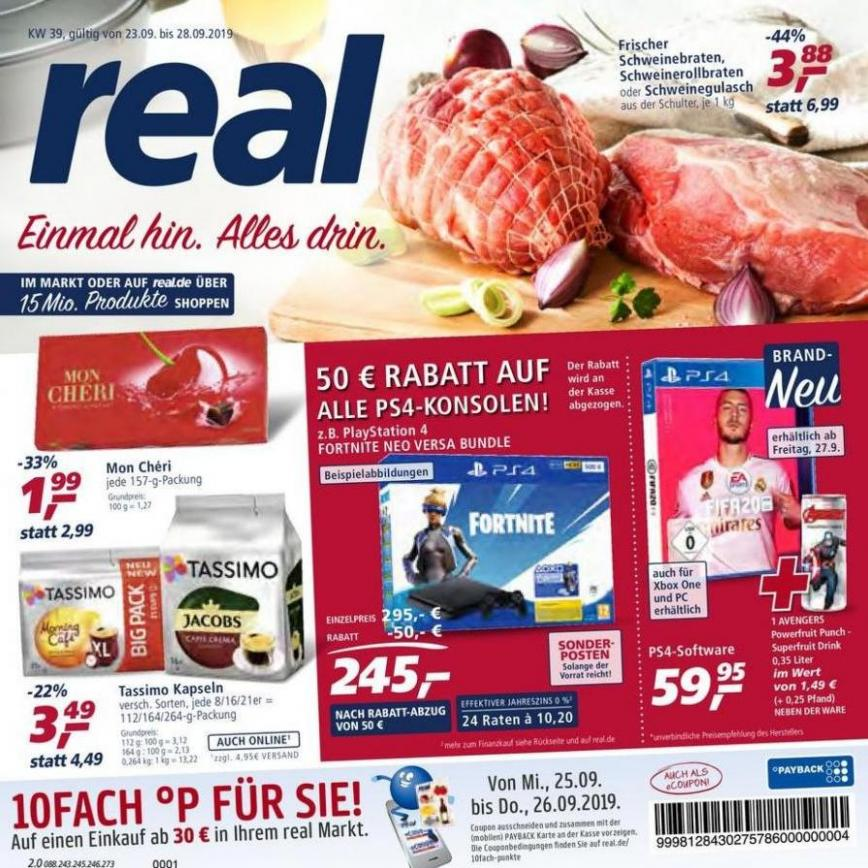 Prospekt Woche 39 . real (2019-09-28-2019-09-28)