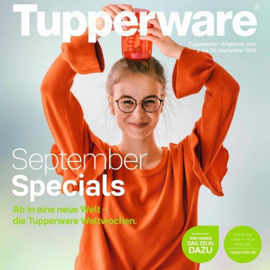 September Specials . Tupperware (2019-09-29-2019-09-29)