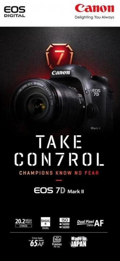 EOS 7D MarkII Leaflet . Canon (2019-10-31-2019-10-31)
