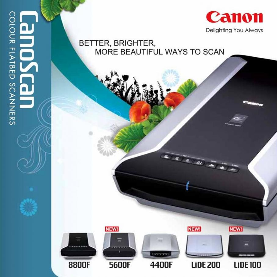 CanoScan Flatbed Scanner . Canon (2019-10-31-2019-10-31)