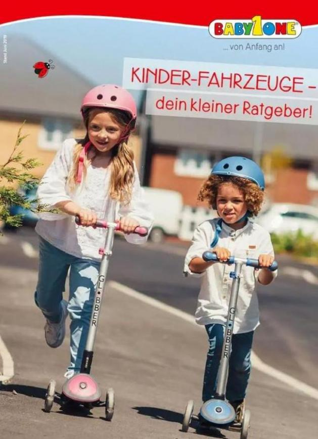 Kinder-Fahrzeuge-dein kleiner Ratgeber! . BabyOne (2019-12-31-2019-12-31)
