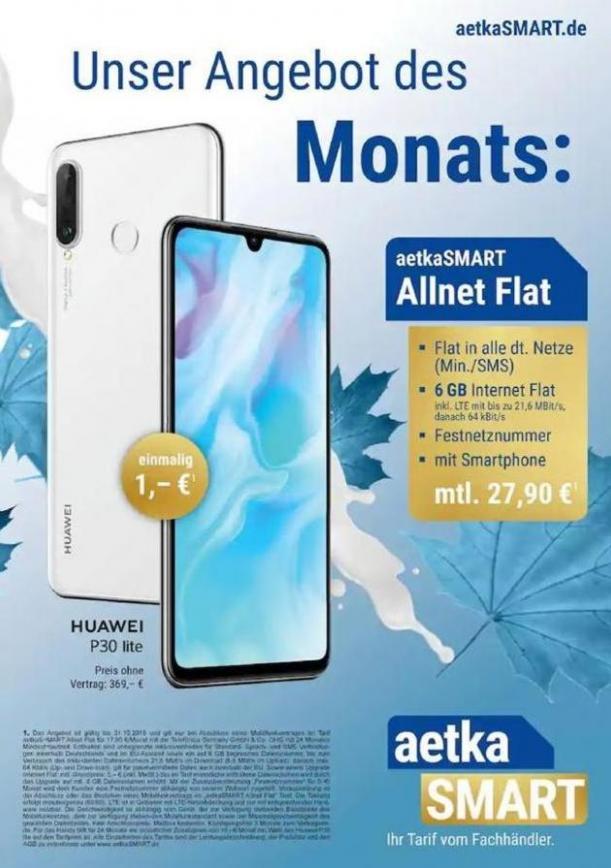 Unsere Angebot des Monats . aetka (2019-10-31-2019-10-31)