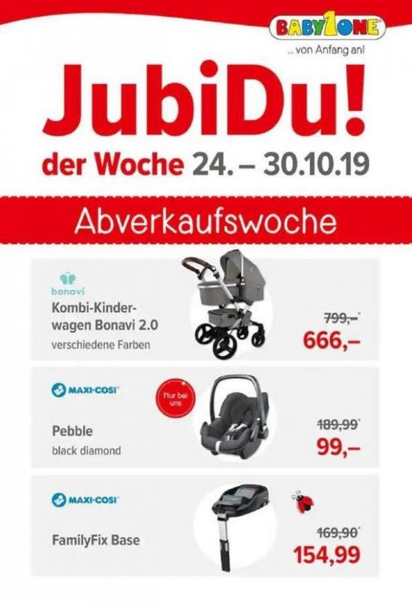 JubiDu! der Woche . BabyOne (2019-10-30-2019-10-30)
