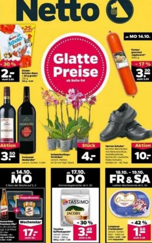 Glatte Preise . Netto (2019-10-19-2019-10-19)