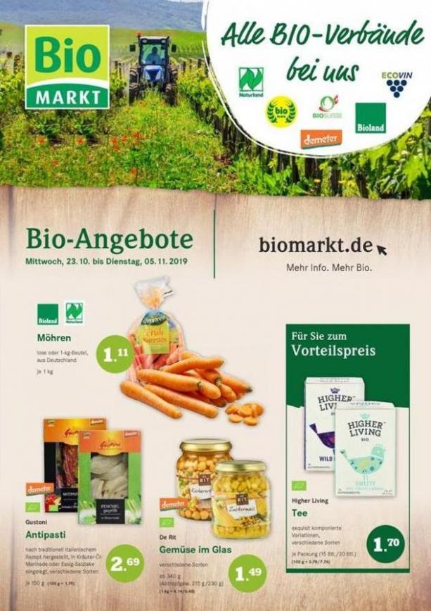 Bio-Angebote . BioMarkt (2019-11-02-2019-11-02)