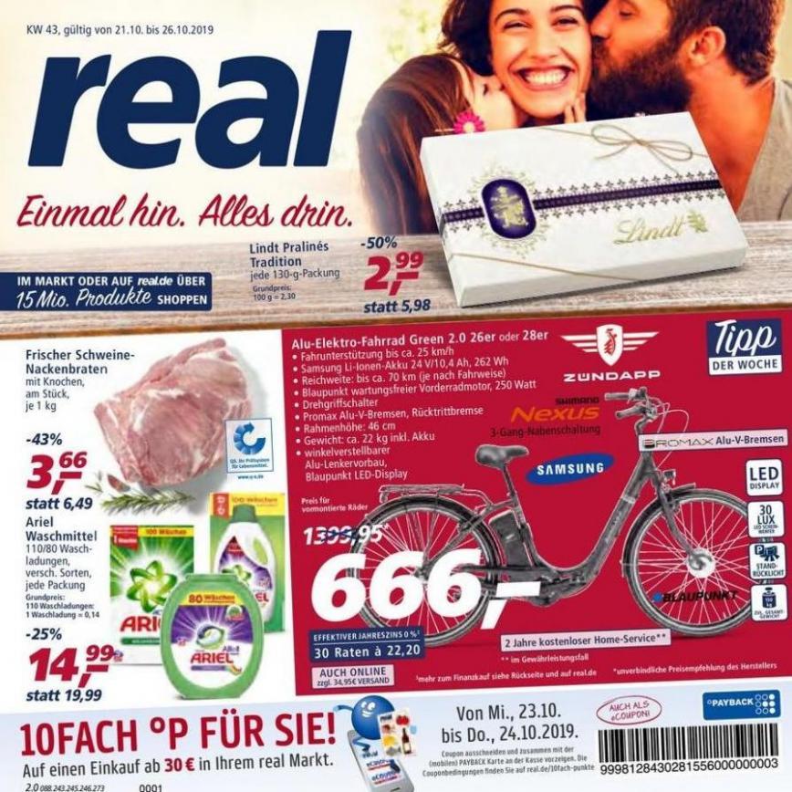 Prospekt Woche 43 . real (2019-10-26-2019-10-26)