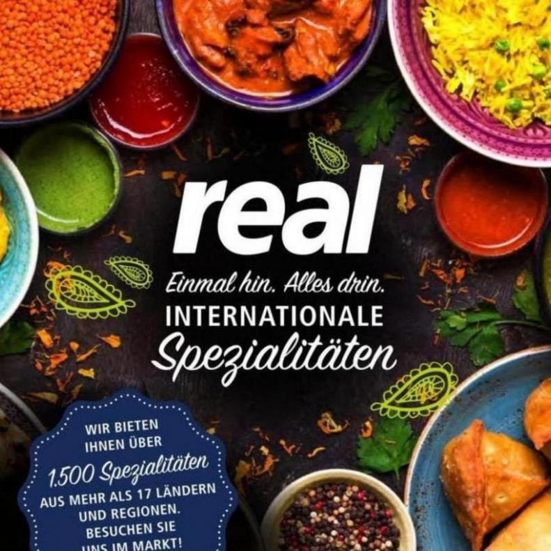 Internationale Spezialitäten . real (2019-10-26-2019-10-26)