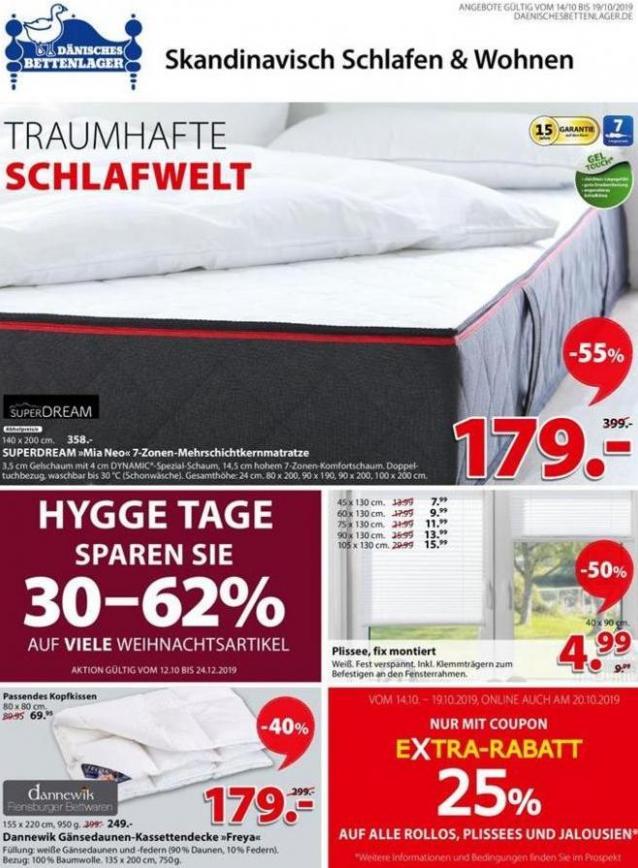 Traumhafte Schlafwelt . Dänisches Bettenlager (2019-10-19-2019-10-19)