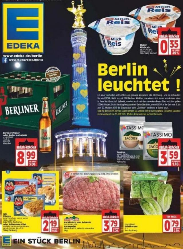 Edeka flugblatt . EDEKA (2019-10-12-2019-10-12)