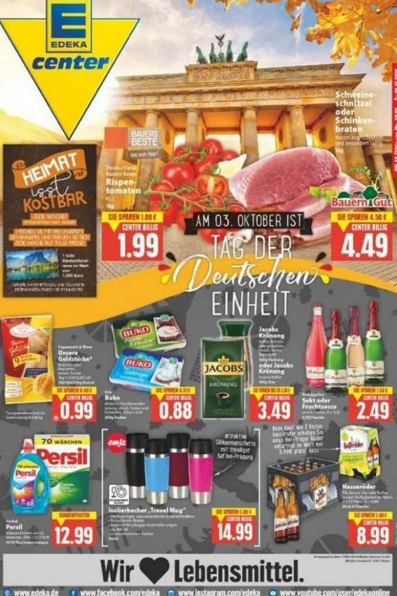 Edeka flugblatt . EDEKA (2019-10-05-2019-10-05)