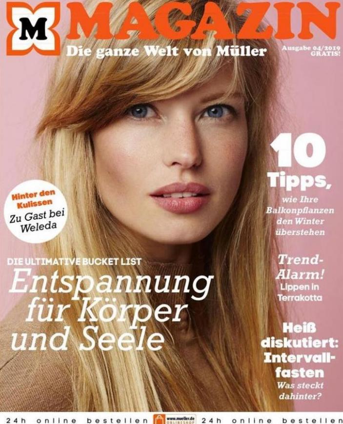 Magazin . Müller (2019-12-31-2019-12-31)