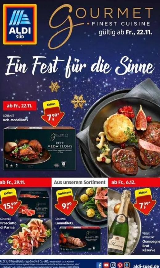 Gourmet . Aldi Süd (2019-12-06-2019-12-06)