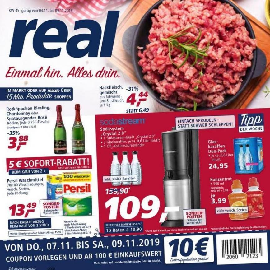 Prospekt Woche 45 . real (2019-11-09-2019-11-09)