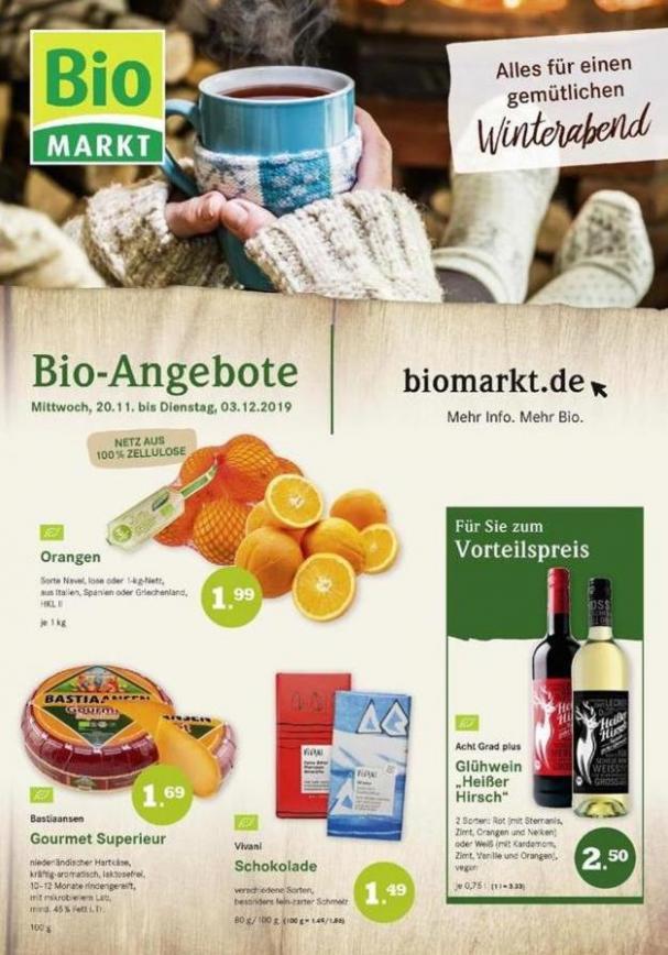 Bio-Angebote . BioMarkt (2019-12-03-2019-12-03)