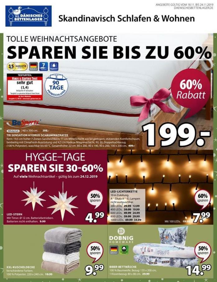 Tolle Weihnachtsangebote Sparen sie bis zu 60% . Dänisches Bettenlager (2019-11-24-2019-11-24)