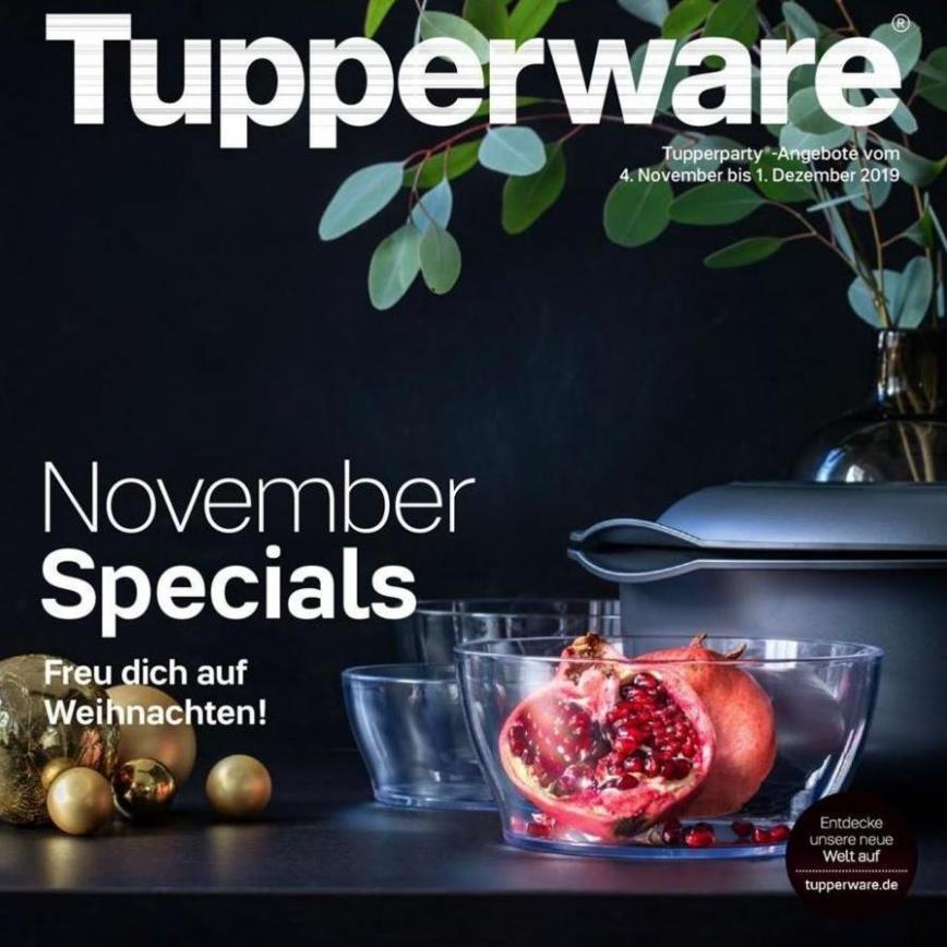 November Specials . Tupperware (2019-12-01-2019-12-01)
