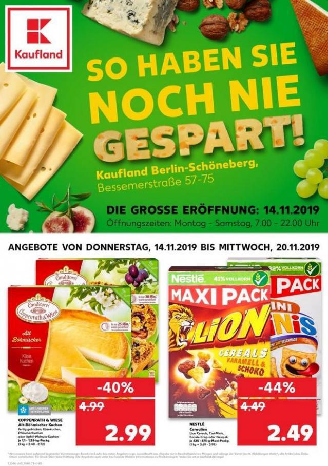 Angebote Kaufland . Kaufland (2019-11-20-2019-11-20)