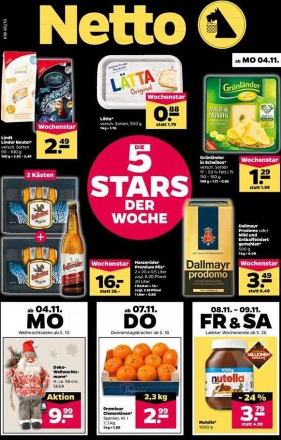 5 Stars der woche . Netto (2019-11-09-2019-11-09)