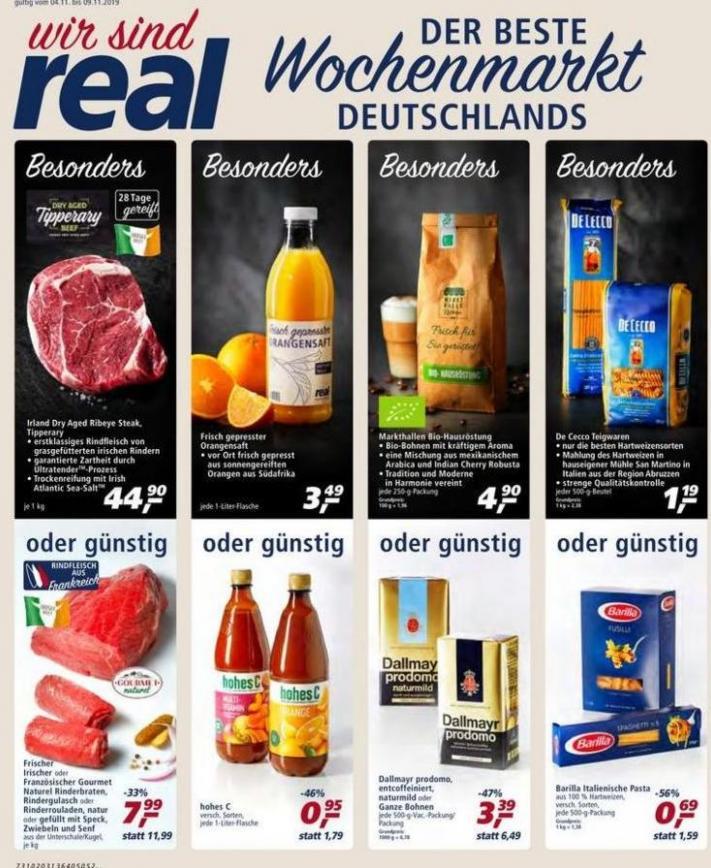 Der beste Wochenmarkt Deutschlands . real (2019-11-09-2019-11-09)
