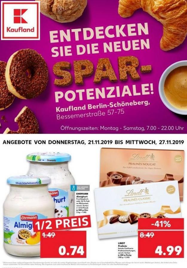 Angebote Kaufland . Kaufland (2019-11-27-2019-11-27)