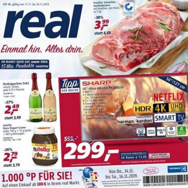 Prospekt Woche 46 . real (2019-11-16-2019-11-16)