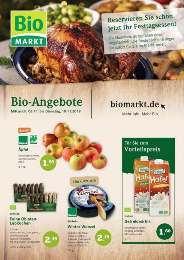 Bio-Angebote . BioMarkt (2019-11-19-2019-11-19)