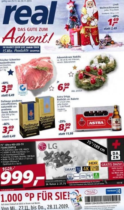 Prospekt Woche 48 . real (2019-11-30-2019-11-30)
