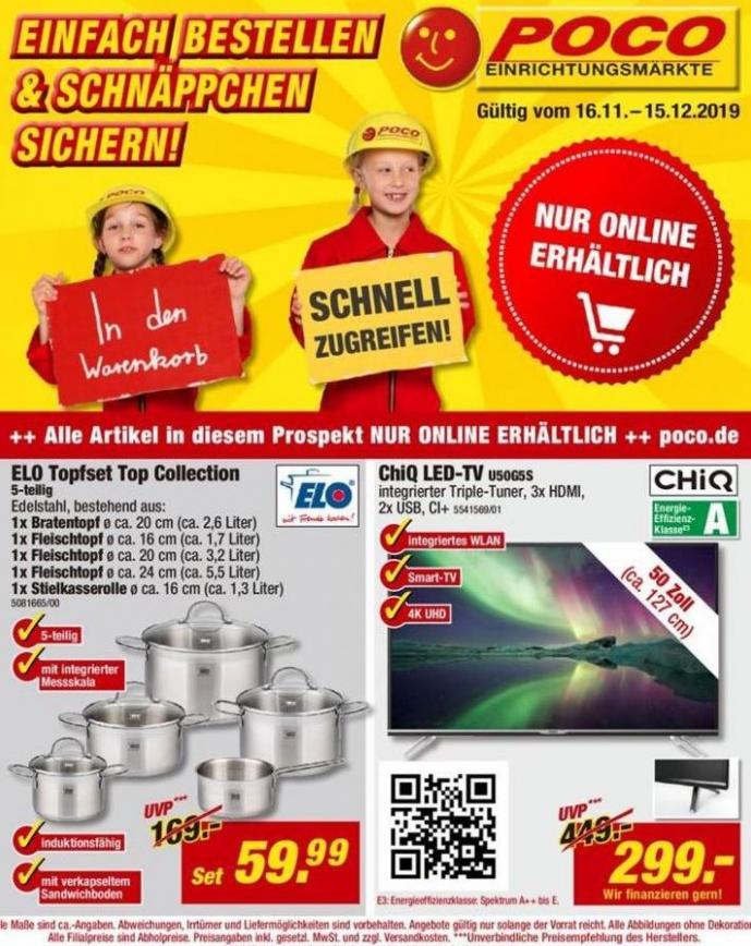 Katalog . Poco (2019-12-15-2019-12-15)