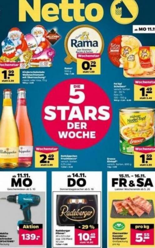 5 Stars der woche . Netto (2019-11-16-2019-11-16)