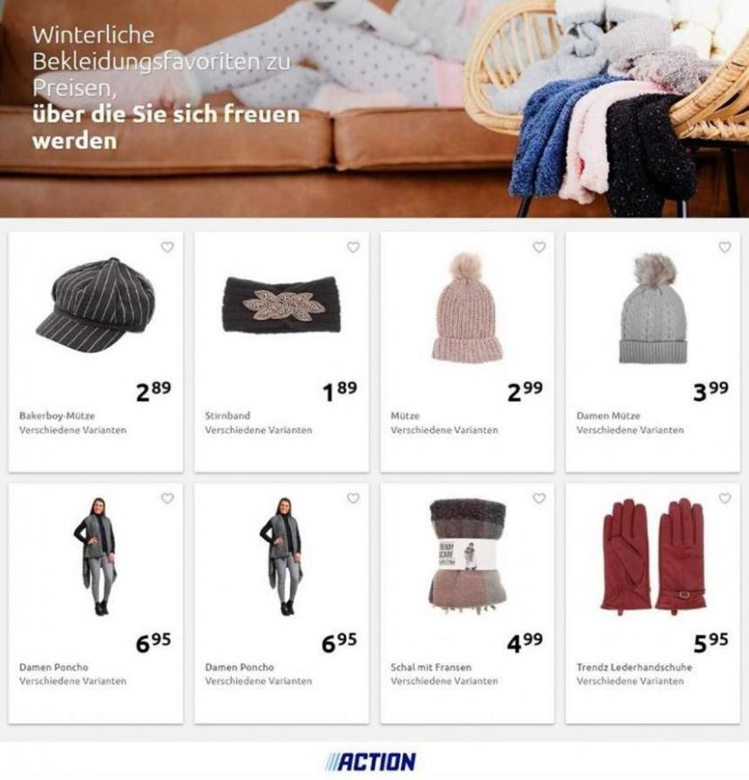 Winterliche Bekleidungsfavoriten . Action (2019-11-30-2019-11-30)