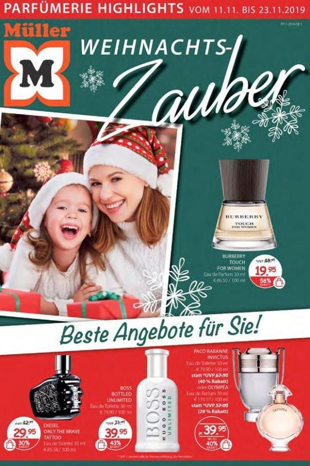 Weihnachts-Zauber . Müller (2019-11-23-2019-11-23)