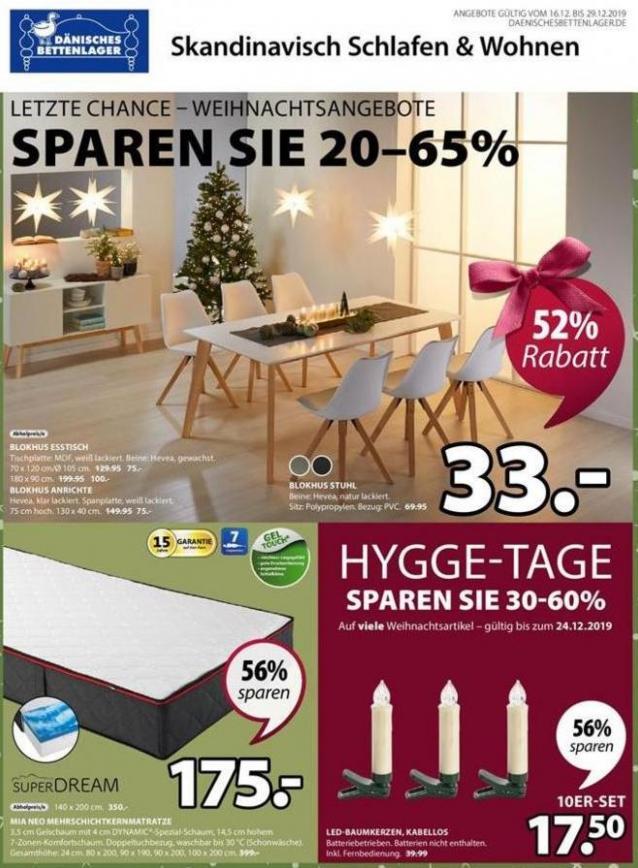 Angebote . Dänisches Bettenlager (2019-12-29-2019-12-29)