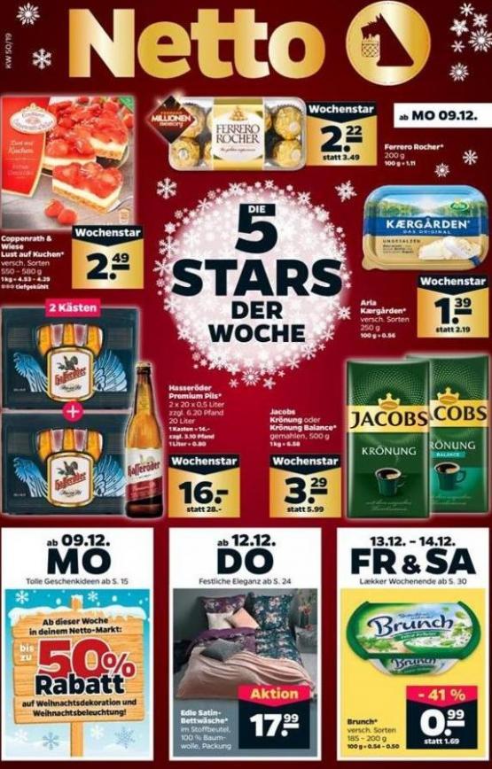 5 Stars der woche . Netto (2019-12-14-2019-12-14)