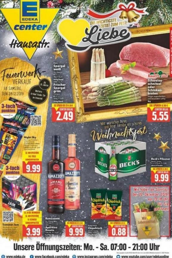 Edeka flugblatt . EDEKA (2019-12-28-2019-12-28)